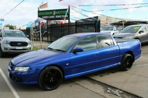 2005 Holden Crewman VZ Storm Blue 4 Speed Automatic Crew Cab Utility