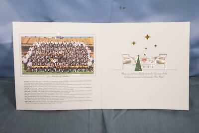 Pittsburgh Steelers NFL Season Ticket Holder's Christmas Card 2016 dq