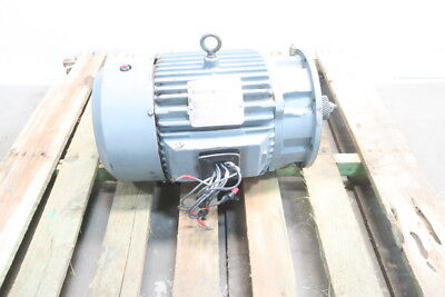 Reliance Duty Master 10hp 215ty 1760rpm 3ph 230460v-ac Electric Motor