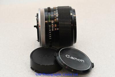 Canon FD 100mm S.S.C. F2.8 Prime Lens  HAS FUNGUS SSC
