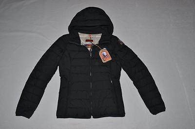 AUTHENTIC PARAJUMPERS JULIET GIRLS DOWN JACKET BLACK YOUTH SMALL BRAND NEW