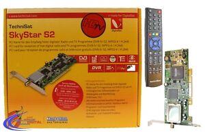 Technisat HD TV SkyStar S2 PCI Karte - digitale SAT Karte für Computer / PC
