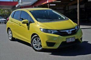 2017 Honda Jazz GF MY17 VTi Yellow 5 Speed Manual Hatchback Nundah Brisbane North East Preview
