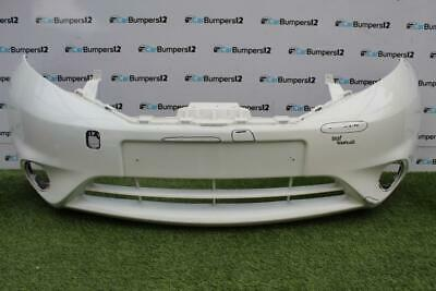 NISSAN NOTE 2013 FRONT BUMPER MAT-BLACK NO PDC OR WASHER HOLES NEW