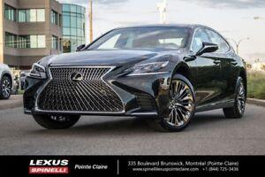 2018 Lexus LS 500 AWD, LUXURY PACKAGE SPECIAL CASH REBATE $15000
