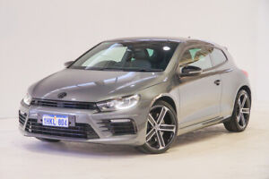 2015 Volkswagen Scirocco 1S MY16 R Coupe DSG Grey 6 Speed Sports Automatic Dual Clutch Hatchback