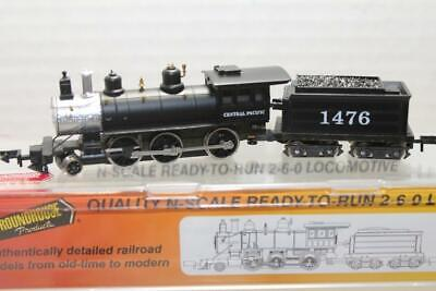 ROUNDHOUSE N SCALE CENTRAL PACIFIC 2-6-0 MOGUL #1476 (8057)