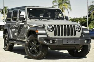 2021 Jeep Wrangler JL MY21 Unlimited Night Eagle Grey 8 Speed Automatic Hardtop Hoppers Crossing Wyndham Area Preview