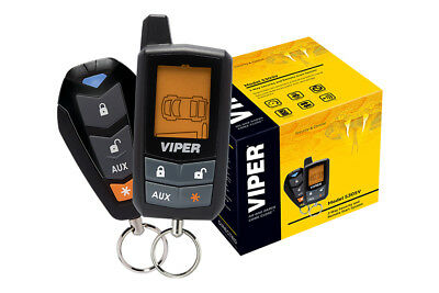 Viper Refurbished 5305V 2 Way Car Alarm Security   Remote Start System