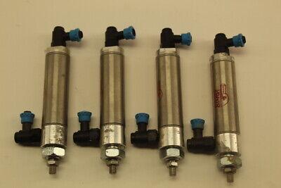 Bimba Sr-092-d Pneumatic Cylinder Lot Of 4