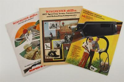 Vintage Paper Advertising Winchester Western Guns Ammunition Hunting Catalogs B