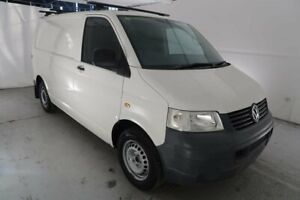 2006 Volkswagen Transporter T5 MY06 Low Roof White 5 Speed Manual Van Hamilton North Newcastle Area Preview