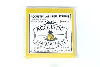 (Asher Guitars Acoustic Hawaiian™ Lap Steel Strings - TWO Sets!)