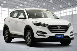 2016 Hyundai Tucson TL Active X 2WD White 6 Speed Sports Automatic Wagon Victoria Park Victoria Park Area Preview