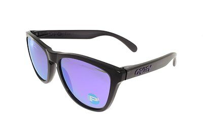 OAKLEY FROGSKINS Black Ink / Violet Iridium POLARIZED 9013-09
