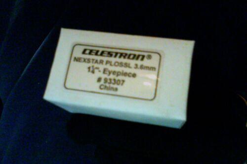 """Celestron - """"Nexstar 3.6 mm Plossl Ocular"""" - Multi Coated  (1.25"""")  (Vintage)"""
