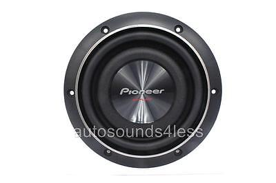 "Pioneer TS-SW2002D2 600 Watts 8"" Dual 2 Ohm Shallow Mount Car Truck Subwoofer"