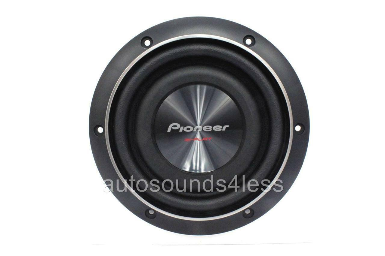 """Pioneer TS-SW2002D2 600 Watts 8"""" Dual 2 Ohm Shallow Mount"""