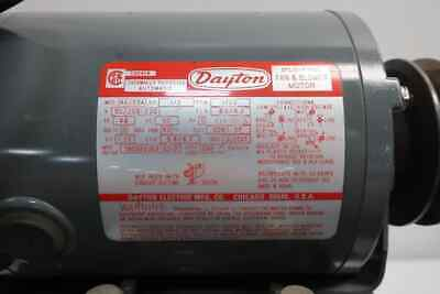 Dayton Split Phase Fan Blower Ac Motor