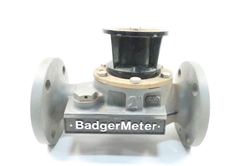 Badger Meter 2in Flanged Flow Meter