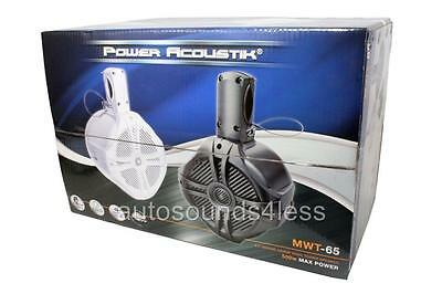 Power Acoustik MWT-65W 500 Watt Marine Blanco 6.5