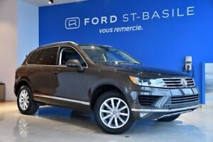2016 Volkswagen Touareg 3.6L+ CUIR+TOIT PANO+GPS+++ LOW MILLEAGE