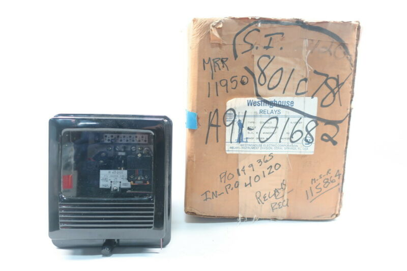 Westinghouse 1456C05A08 C0-6 Overcurrent Protection Relay