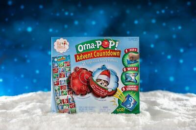 NEW 2019 Elf On The Shelf Orna-POP! Advent Countdown Calendar EOTSPOP
