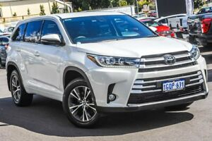 2018 Toyota Kluger GSU50R GX 2WD White 8 Speed Sports Automatic Wagon Bayswater Bayswater Area Preview