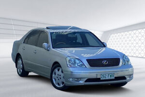 2000 Lexus LS430 UCF30R Silver 5 Speed Automatic Sedan
