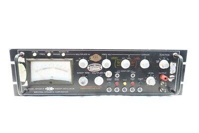 Spectral Dynamics Sd104a-5 Sweep Oscilloscope
