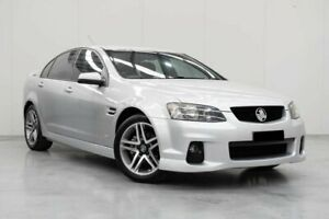 2011 Holden Commodore VE II SV6 Silver 6 Speed Sports Automatic Sedan