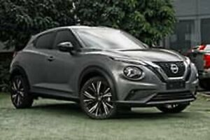 2020 Nissan Juke F16 Ti DCT 2WD Grey 7 Speed Sports Automatic Dual Clutch Hatchback Hoppers Crossing Wyndham Area Preview