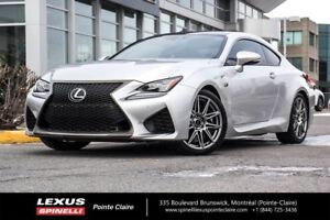 2016 Lexus RC F FREINS BREMBO, AUDIO MARK LEVINSON, INT. ROUGE,
