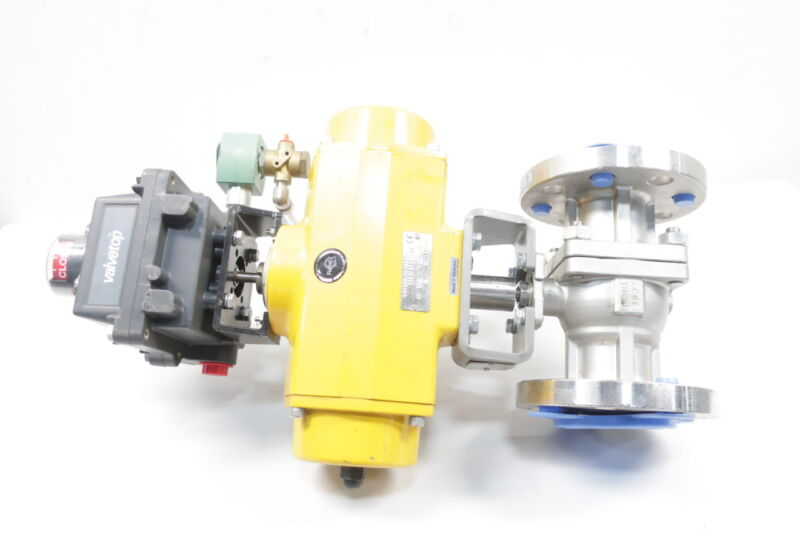 Flowtek F30 Pneumatic 300 Stainless Flanged 2in Control Valve