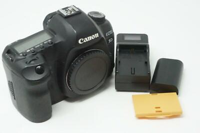 Canon EOS 5D Mark II 21.1MP DSLR Camera Body Only Black Very Good Used G195