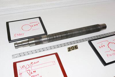 26 Spline Gear Pull Broach 2.3645 X 28 Long By Ohio Broach