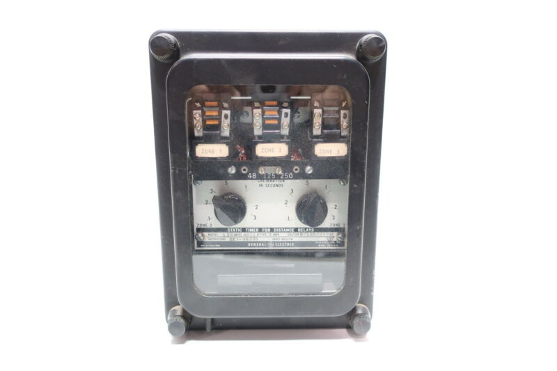 General Electric Ge 12SAM14B11A Static Timing Relay 48/125/250v-dc