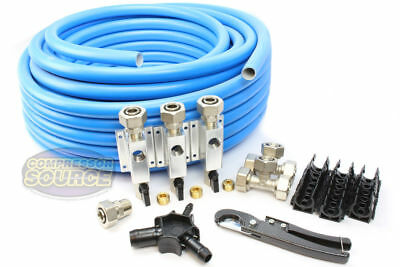 "Rapid Air Maxline M7500 3/4"" Compressed Air Line System Max Line Shop Piping Kit"