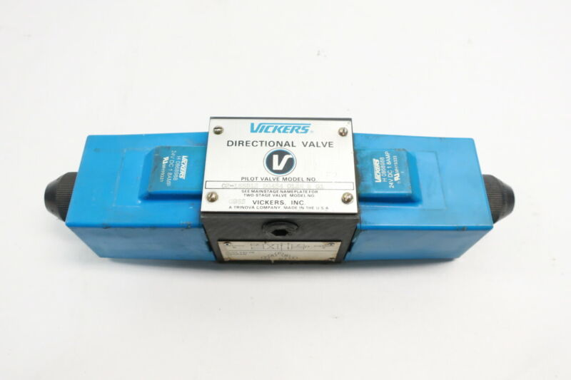 Vickers DG4S4-012N-H-61 Hydraulic Directional Control Valve 24v-dc