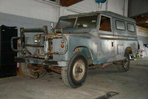 1965 Land Rover Rover Series IIA (No Badge) Grey Manual SUV