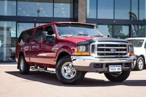 2006 Ford F250 RN XLT 4x2 Red 4 Speed Automatic Utility