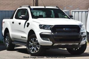 2017 Ford Ranger PX MkII Wildtrak White Sports Automatic Utility Pooraka Salisbury Area Preview