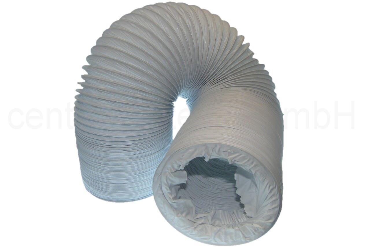 Abluftschlauch 6 Meter aus PVC Ø 100 102 mm Trockner Klimaanlage Luft Schlauch