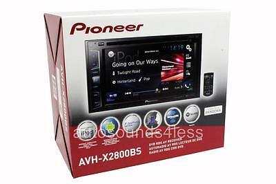 "Pioneer AVH-X2800BS DVD/MP3/CD Player 6.2"" LCD Bluetooth GPS & SiriusXM Ready"