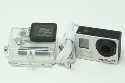 GoPro Hero 3 Plus Silver Edition CHDHN-302 Video Camera Very Good Used B0373