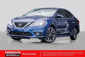 2017 Nissan Sentra SR TURBO MANUAL / SR TURBO / LEATHER / NAVIGA
