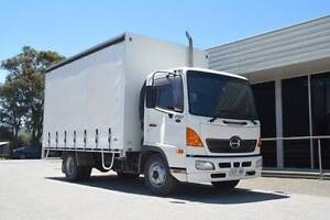 Hino FC Ranger 5 Curtainsider Regency Park Port Adelaide Area Preview