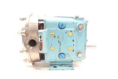 Waukesha 015u2ap Positive Displacement Pump 1-12in