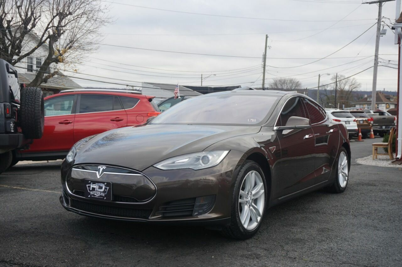2013 Tesla Model S, Brown with 118,191 Miles available now!